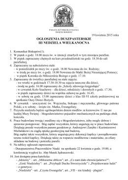 w pliku PDF - Parafia Świętej Rodziny w Łodzi