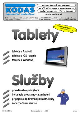Ceny tabletov
