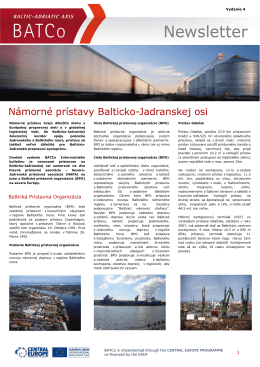 Newsletter Newsletter - baltic
