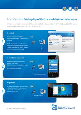 TeamViewer – Prístup k počítaču z mobilného zariadenia