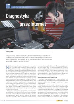 Diagnostyka przez Internet - Auto