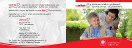 "Flyer ""Caritas24+"" als PDF - Caritasverband Hochrhein eV"