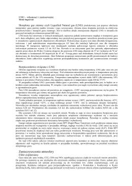 LNG własności i zastosowanie