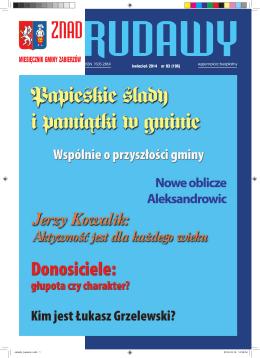 kwiecień 2014 nr 03 (196) - Miesięcznik Znad Rudawy