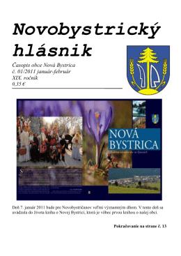 Novobystrický hlásnik 01(január-február)