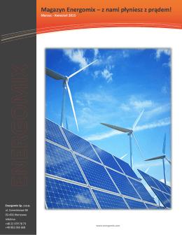 Magazyn Energomix – z nami płyniesz z prądem!
