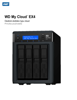 WD My Cloud EX4 - Western Digital