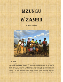 Mzungu w Zambii - St. Luke`s Mission Hospital
