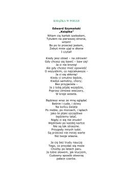 Książka w poezji pdf