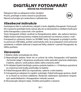 digitalni fotoaparat SK.indd