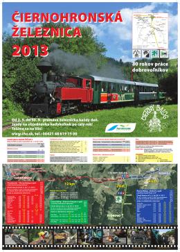 Čiernohronska železnička 2013