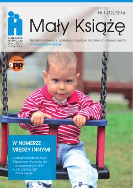 Informator nr 32/2014 - Lubelskie Hospicjum dla Dzieci im. Małego