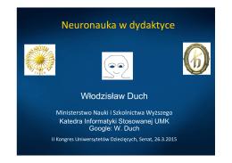prezentacja - II Kongres Uniwersytetów Dziecięcych