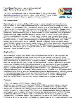 raport (pdf) - Portal Małego Podróżnika