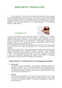 zasadach przygotowywania, rodzajach i wzorach dokumentów