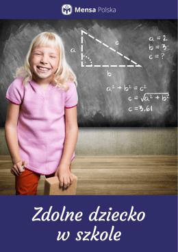 Zdolne dziecko w szkole