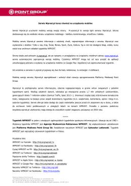 Serwis Wprost.pl teraz również na urządzenia mobilne