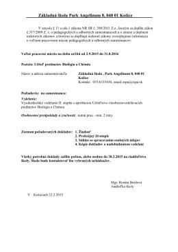 VM_ZS_ParkAngelinum_Kosice_Ucitel_BIO_CHE(20.02.2015)