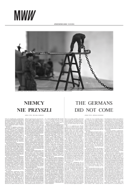 NIEMCY NIE PRZYSZLI THE GERMANS DID NOT COME