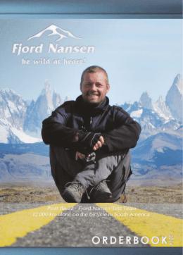 Catálogo en pdf - Fjord Nansen Chile