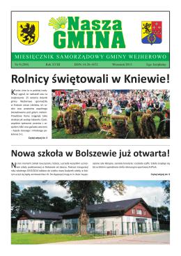 Nasza Gmina Wrzesień 2013