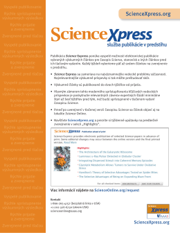 ScienceXpress