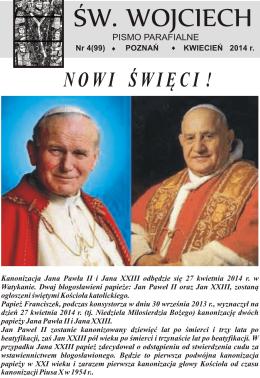 99/2014 - Parafia pw. św. Wojciecha w Poznaniu