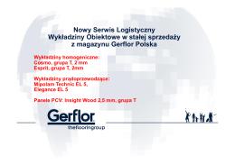 Nowy Serwis Logistyczny Wykładziny Obiektowe w stałej