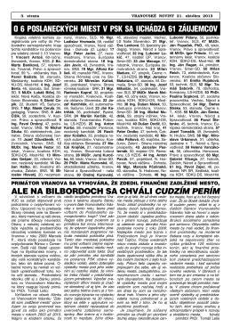 VN2013-40 - Vranovské noviny