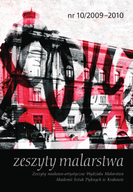Zeszyt_Malarstwa_10 - Zeszyty Naukowo-Artystyczne