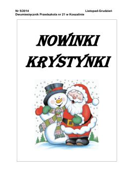 gazetka 11-12.2014.pdf - Portal Edukacyjny Koszalin