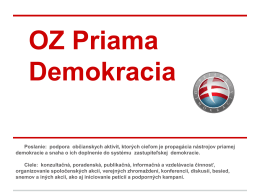 OZ Priama Demokracia