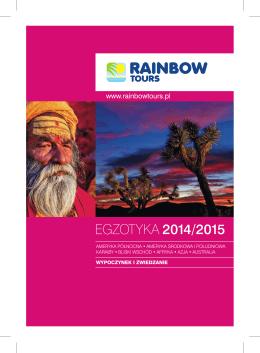 EGZOTYKA 2014/2015 - Biuro Podróży Podróże Marzeń