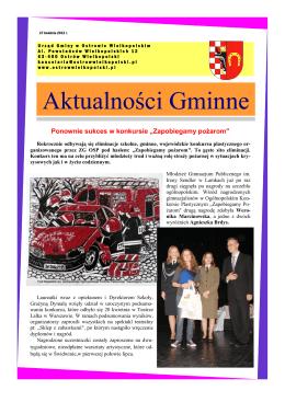 KWIECIEŃ 2012 (pdf) - Gmina Ostrów Wielkopolski