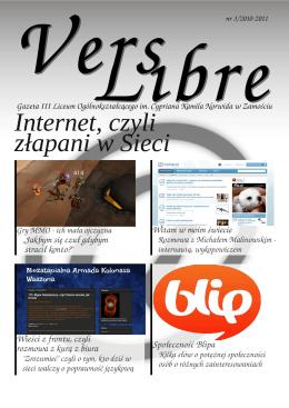 Internet, czyli złapani w Sieci