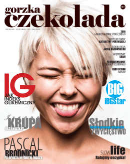 Gorzka Czekolada - Magazyn dla diabetyków