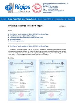 technickej informácii
