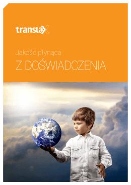 Oferta w PDF - Biuro Tłumaczeń TRANSLAX