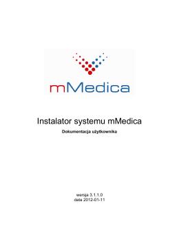 Instalator systemu mMedica