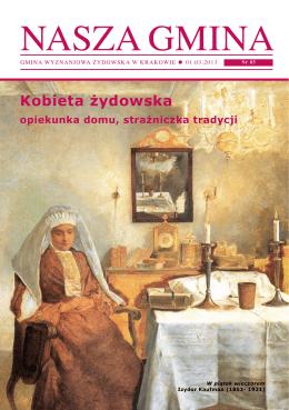 Nasza Gmina - Gmina Wyznaniowa Żydowska w Krakowie
