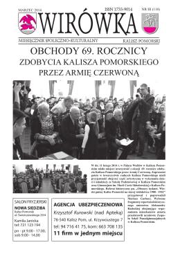 2014.03 Wirowka.PDF - MGOK Kalisz Pomorski