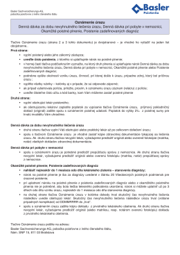 PDF, 195 KB - Basler Poisťovňa