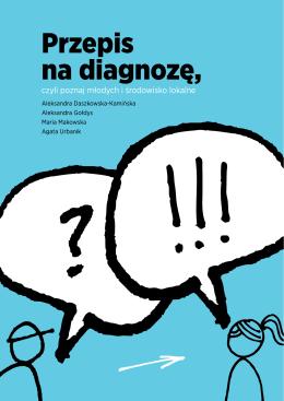 Przepis na diagnozę, czyli poznaj młodych i środowisko lokalne