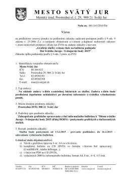 prieskum trhu : grafické spracovanie a tlač z 22.1