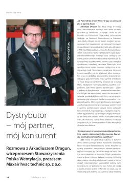 mój partner, mój konkurent - Stowarzyszenie Polska Wentylacja