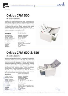 Prospekt CFM 500