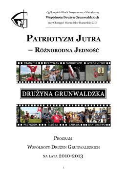 PATRIOTYZM JUTRA - Związek Harcerstwa Polskiego