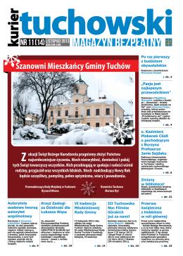 Numer 11 (14) LISTOPAD 2013 - Dom Kultury w Tuchowie