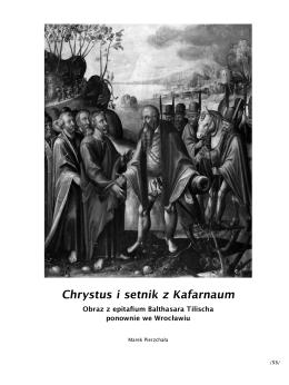 Chrystus i setnik z Kafarnaum - Instytut Historii Sztuki Uniwersytetu