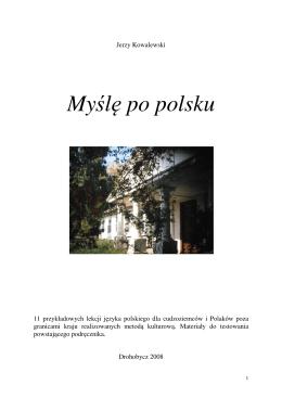 """Pobierz """"Myślę po polsku"""""""
